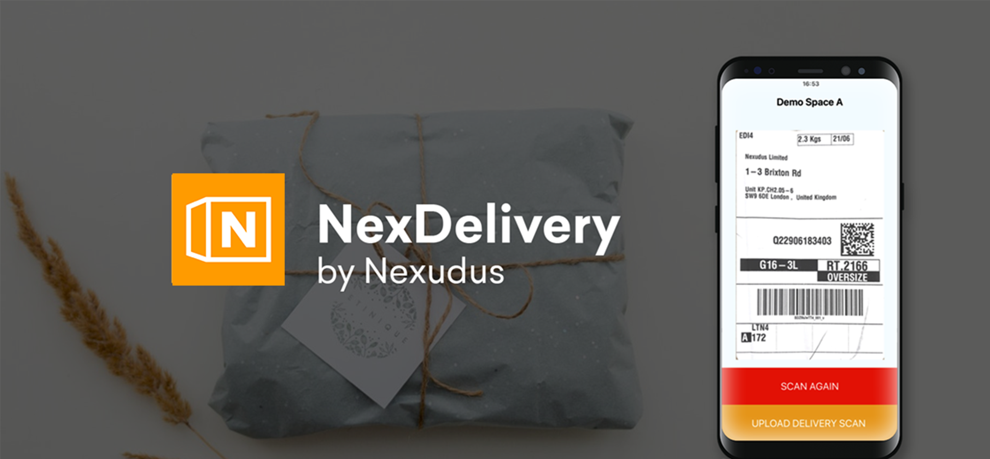 You've got a delivery! Don't miss it with the rebranded NexDelivery APP