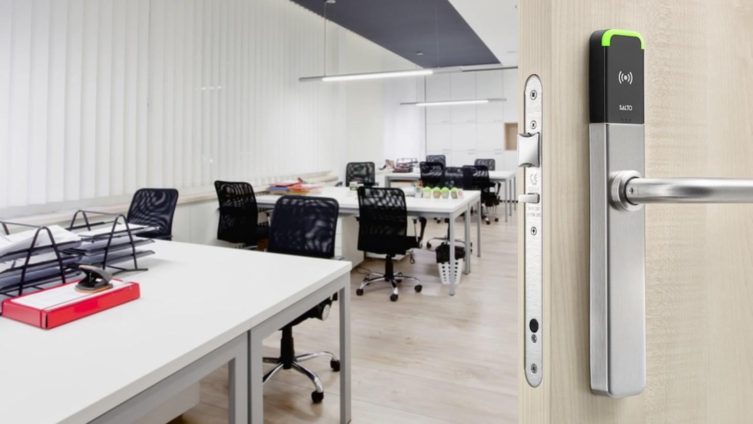 How can the integration between SALTO KS and Nexudus benefit your coworking space?