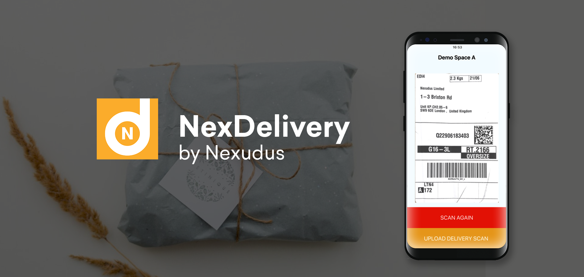 Your NexDelivery has arrived!