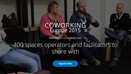 Coworking Europe Conference 2015 is coming!