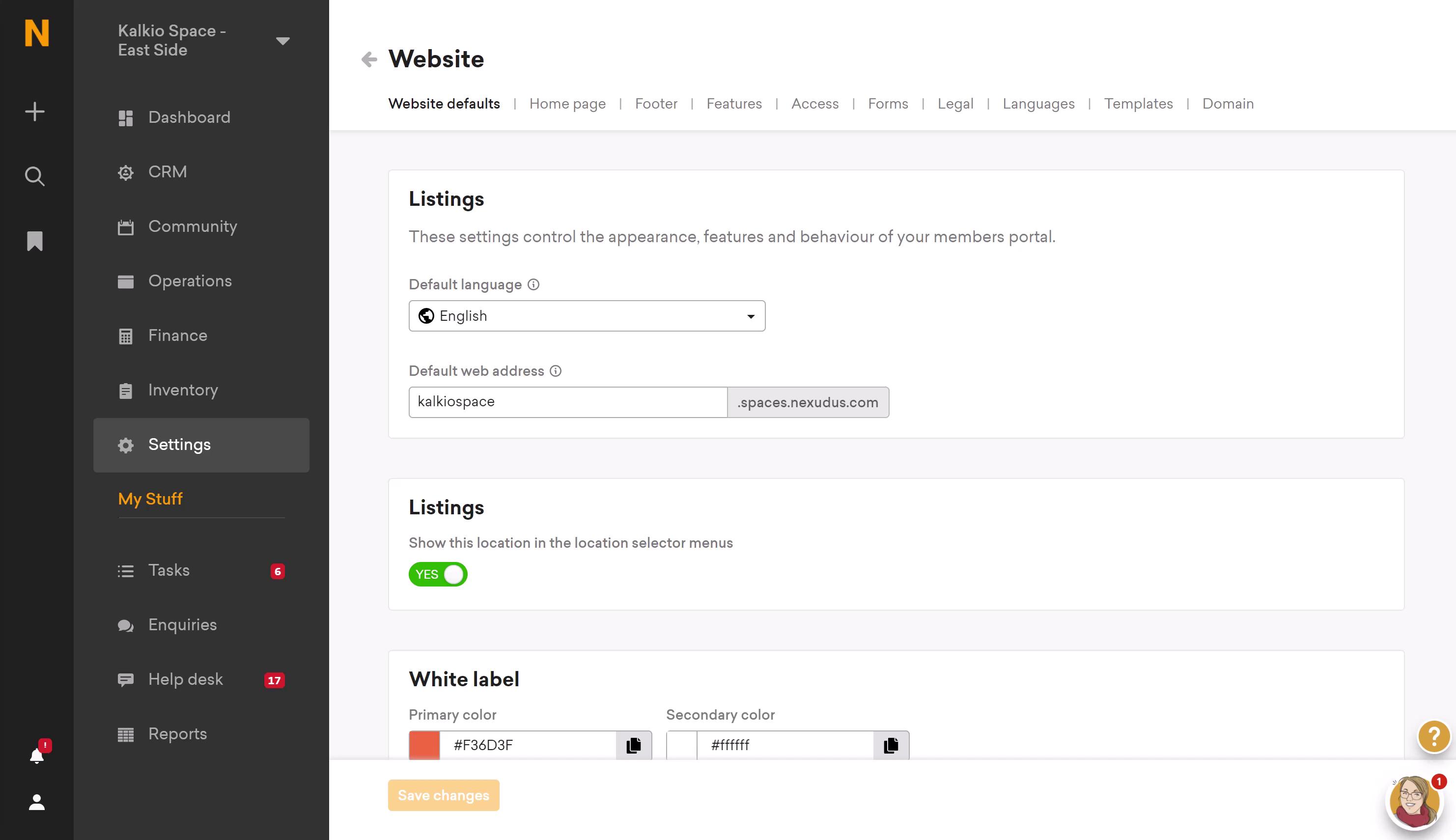 new members portal preview screenshot