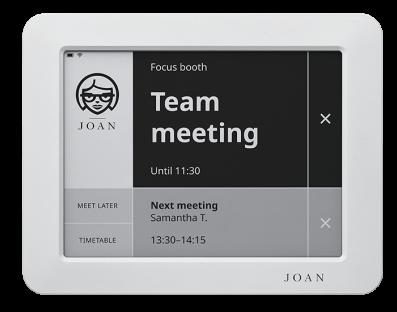 Joan 6 Meeting Room Display