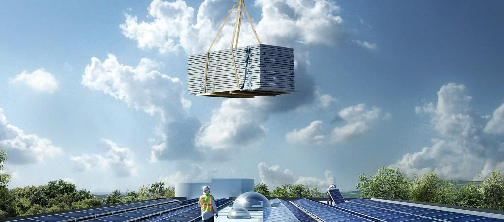 Solar panels. Image credit: Powerhouse