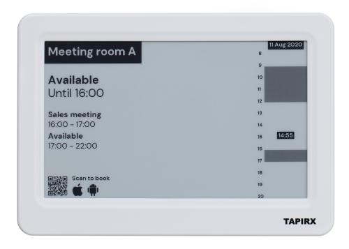 Tapirx Room Display