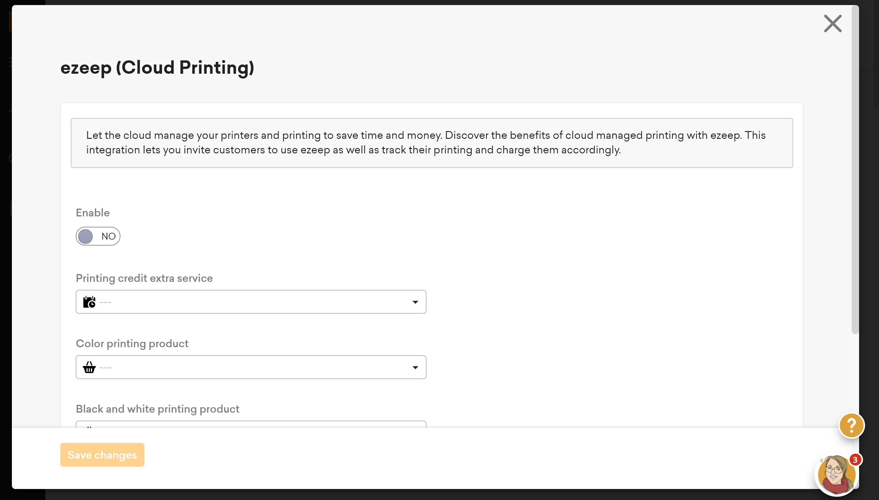 Reenable the eZeep integration directly from the Nexudus Platform
