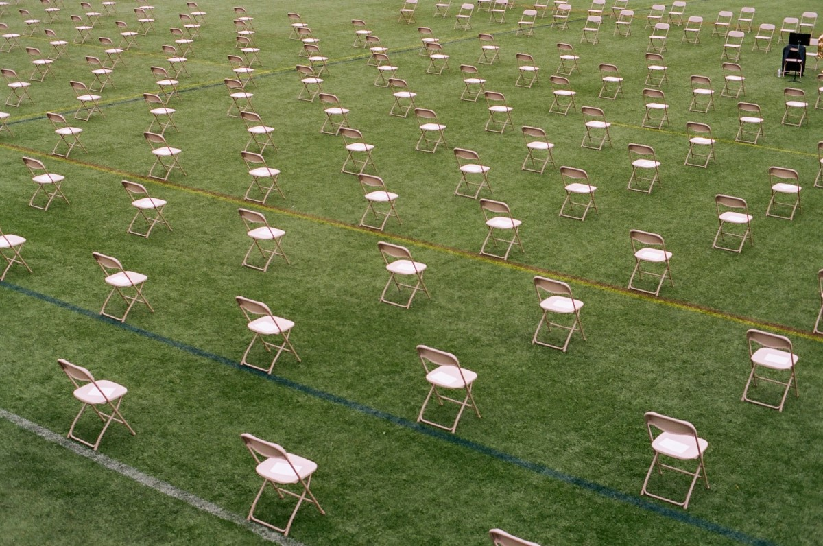 Socially distanced chairs - Credit to @forest_ms, image supplied via Unsplash