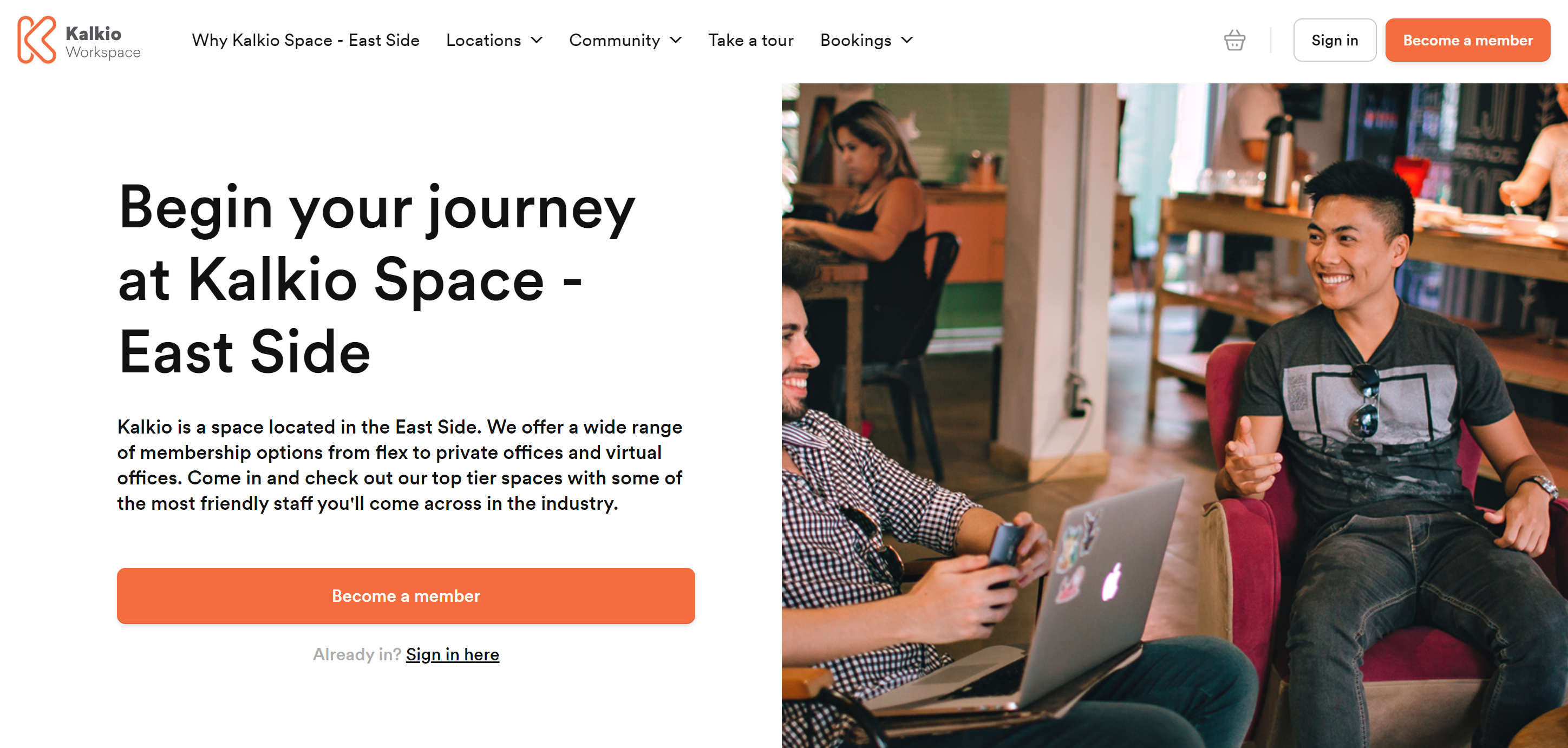 Keep you branding strong with Nexudus' white-label coworking software
