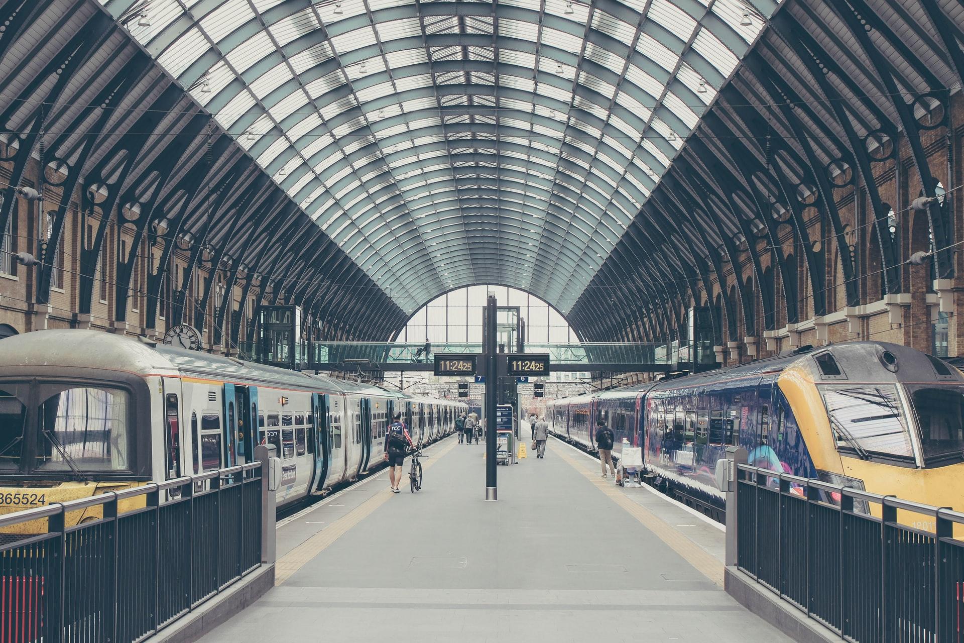 King's Cross Station London. Photo by Michał Parzuchowski Via Unsplash