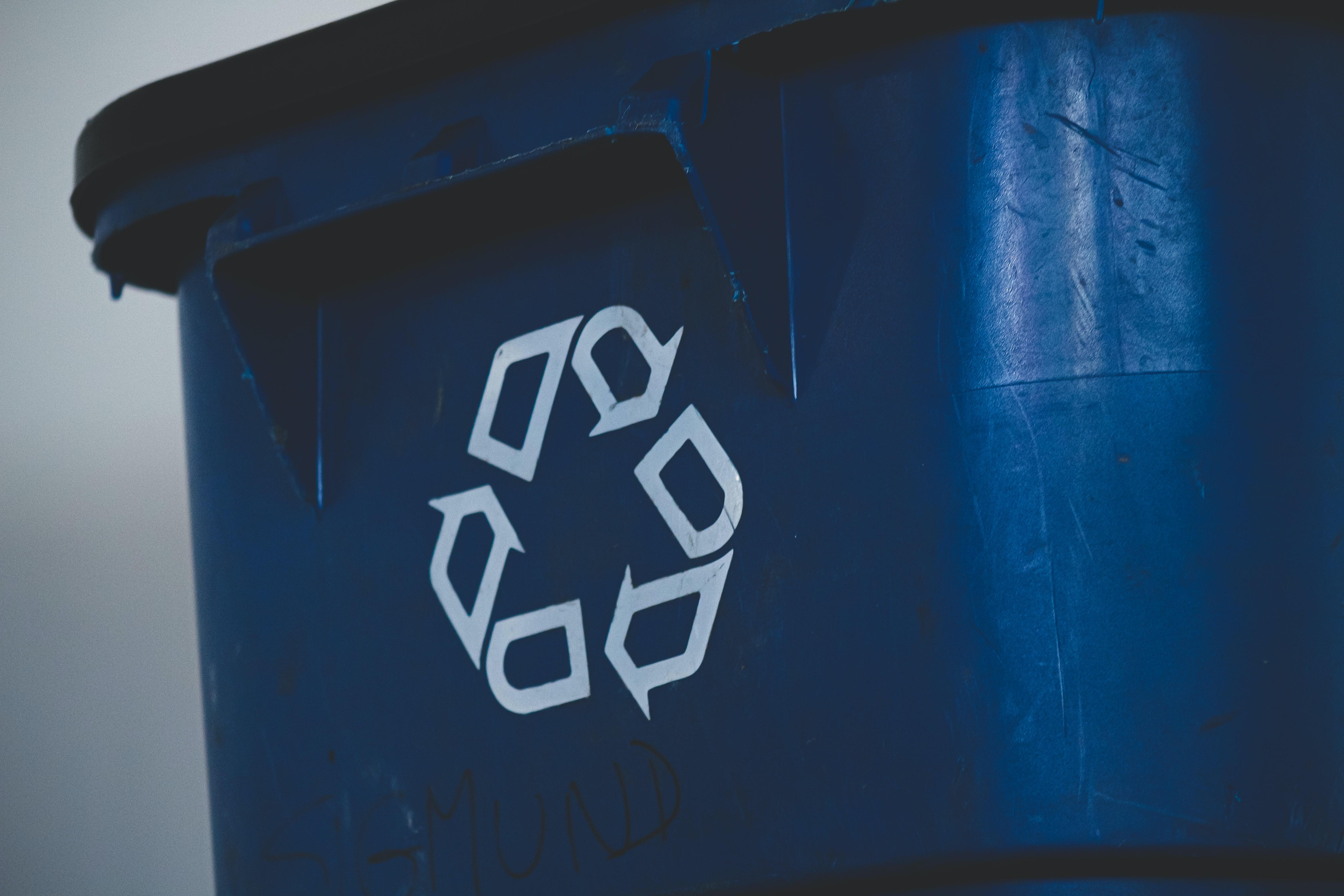 Recycling bin. Photo by @sigmund